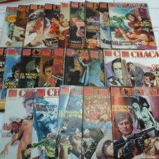 Cómics: LOTE - CHACAL - 23 NÚMEROS - ZINCO. Lote 56939624