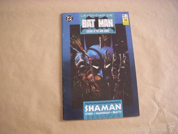 LEYENDAS DE BATMAN Nº 2, EDITORIAL ZINCO (Tebeos y Comics - Zinco - Batman)