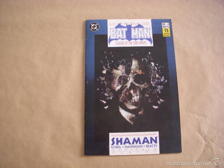LEYENDAS DE BATMAN Nº 4, EDITORIAL ZINCO (Tebeos y Comics - Zinco - Batman)