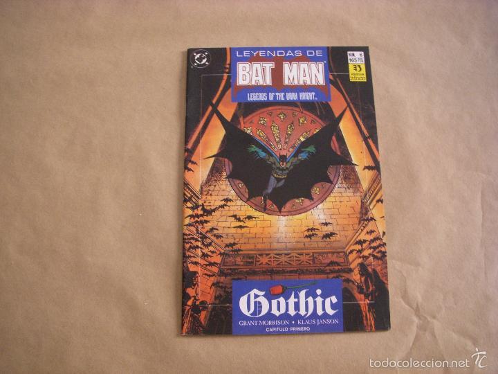 LEYENDAS DE BATMAN Nº 6, EDITORIAL ZINCO (Tebeos y Comics - Zinco - Batman)