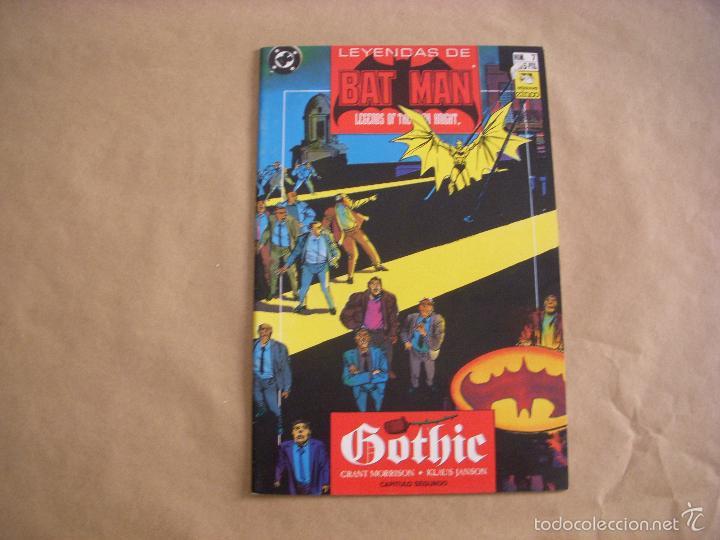LEYENDAS DE BATMAN Nº 7, EDITORIAL ZINCO (Tebeos y Comics - Zinco - Batman)