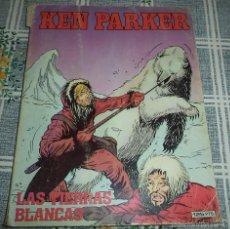 Cómics: KEN PARKER TACO N.º 10 LAS TIERRAS BLANCAS ED. ZINCO 1983 PASTA SEMRIGIDA 128 PAGINAS BLANCO Y NEGRO. Lote 57071156