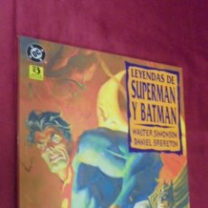 Cómics: LEYENDAS DE SUPERMAN Y BATMAN . EDICIONES ZINCO.. Lote 57196590