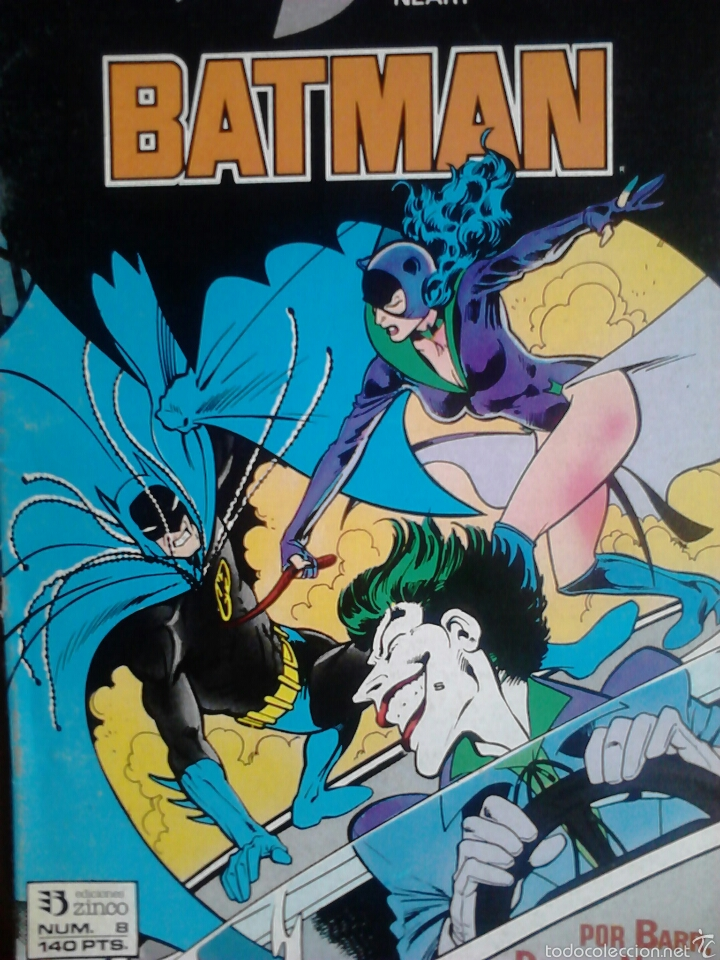 BATMAN 8 VOLUMEN 2 (Tebeos y Comics - Zinco - Batman)