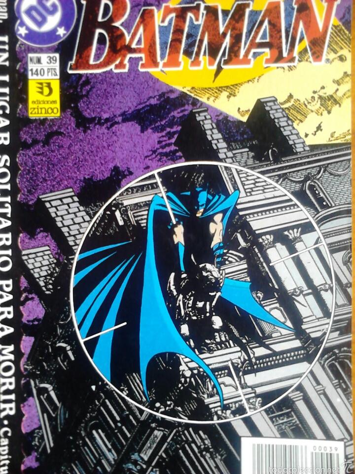 BATMAN 39 VOLUMEN 2 (Tebeos y Comics - Zinco - Batman)