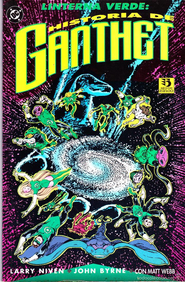 LINTERNA VERDE: HISTORIA DE GANTHET. PRESTIGIO ZINCO (Tebeos y Comics - Zinco - Prestiges y Tomos)