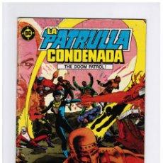 Cómics: LA PATRULLA CONDENADA Nº 1 - ZINCO. Lote 112840131