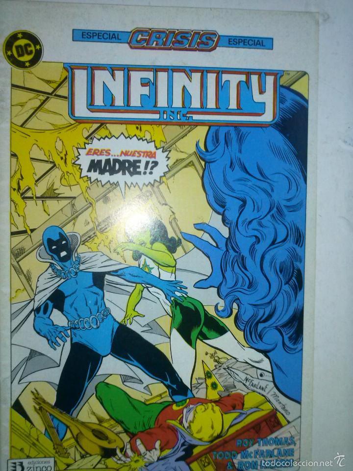 INFINITY INC-DC- Nº 17 -OBRA DE ROY THOMAS Y TODD MCFARLANE-1987-CASI-FLAMANTE-MUY RARO-LEA-5681 (Tebeos y Comics - Zinco - Infinity Inc)