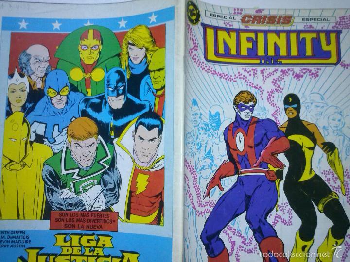 Cómics: INFINITY INC Nº 18-1987- GRAN OBRA DE ROY THOMAS Y TODD MCFARLANE-FLAMANTE- MUY RARO-5682 - Foto 2 - 57609546