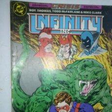 Cómics: INFINITY INC Nº 19-1987- GRAN OBRA DE ROY THOMAS Y TODD MCFARLANE-BUENO- MUY RARO-5683. Lote 57609633