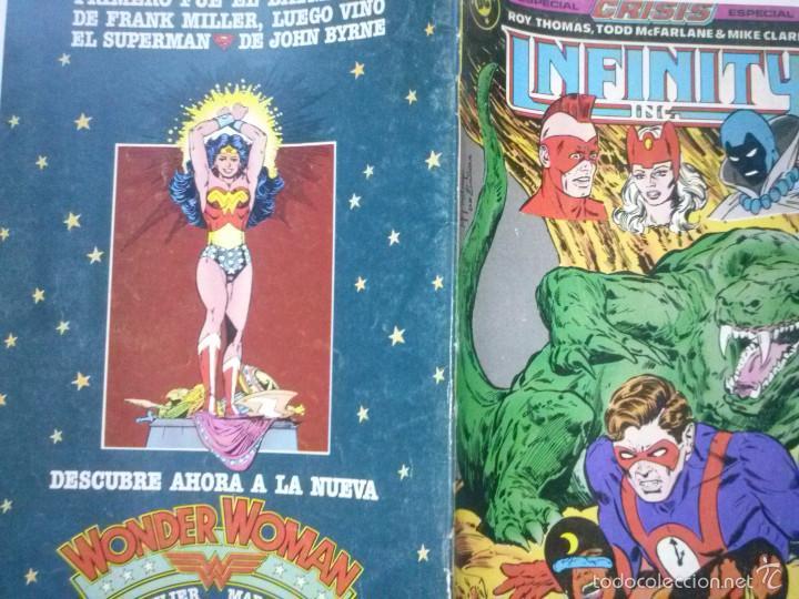 Cómics: INFINITY INC Nº 19-1987- GRAN OBRA DE ROY THOMAS Y TODD MCFARLANE-BUENO- MUY RARO-5683 - Foto 2 - 57609633