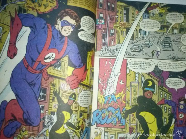 Cómics: INFINITY INC Nº 19-1987- GRAN OBRA DE ROY THOMAS Y TODD MCFARLANE-BUENO- MUY RARO-5683 - Foto 3 - 57609633