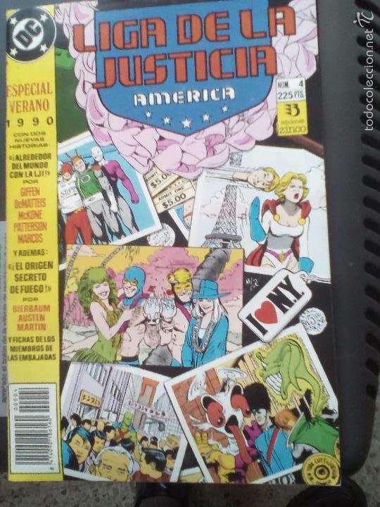 LIGA DE LA JUSTICIA 4 ESPECIAL VERANO ZINCO (Tebeos y Comics - Zinco - Liga de la Justicia)