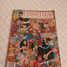 Cómics: COMIC Nº 2 ESPECIAL NAVIDAD CON LOS SUPERHÉROES DC. Lote 57991996