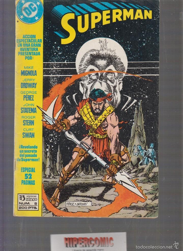 SUPERMAN ESPECIAL Nº 5 /POR: MIGNOLA , GEORGE PEREZ, ETC.. (Tebeos y Comics - Zinco - Superman)