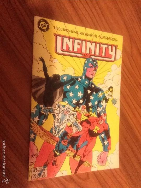 INFINITY INC 8. BUEN ESTADO. GRAPA. (Tebeos y Comics - Zinco - Infinity Inc)