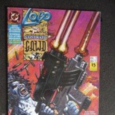 Cómics: LOBO. CONTRATO SOBRE GAWD. Nº 1. DC ZINCO. Lote 58281830