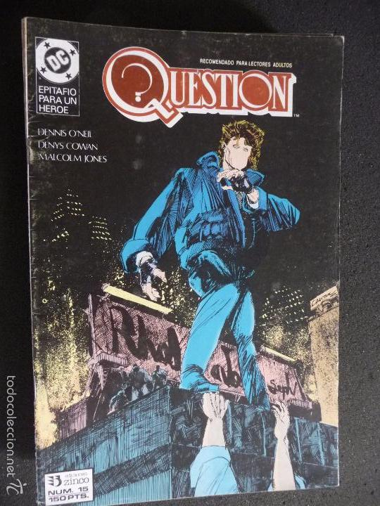 QUESTION. Nº 15. DC ZINCO (Tebeos y Comics - Zinco - Question)