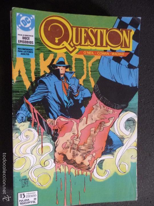 QUESTION. Nº 12. DC ZINCO (Tebeos y Comics - Zinco - Question)