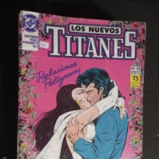 Cómics: LOS NUEVOS TITANES. Nº 24. DC ZINCO. Lote 58283461