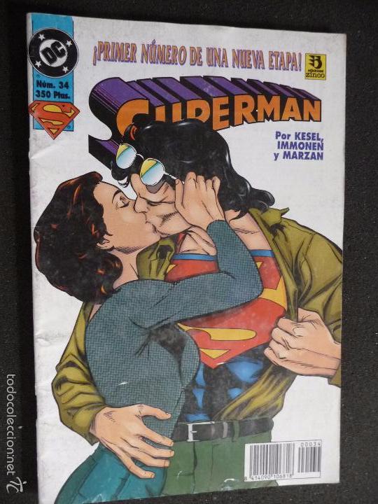 SUPERMAN. Nº 34. DC ZINCO (Tebeos y Comics - Zinco - Superman)
