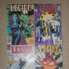 Cómics: DC COMICS - L.E.G.I.O.N '91 - 92 LOTE (EDICIONES ZINCO). Lote 58301431