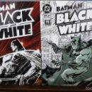 Cómics: BATMAN BLACK AND WHITE. DOS TOMOS, EDICIONES ZINCO.. Lote 58321258