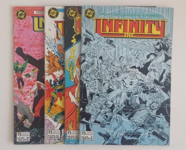 DC COMICS - INFINITY INC. LOTE (EDICIONES ZINCO) (Tebeos y Comics - Zinco - Infinity Inc)