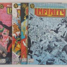 Cómics: DC COMICS - INFINITY INC. LOTE (EDICIONES ZINCO). Lote 58328329
