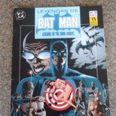 Cómics: LEYENDAS DE BATMAN -- Nº 13 -- DC / ZINCO --. Lote 58360014