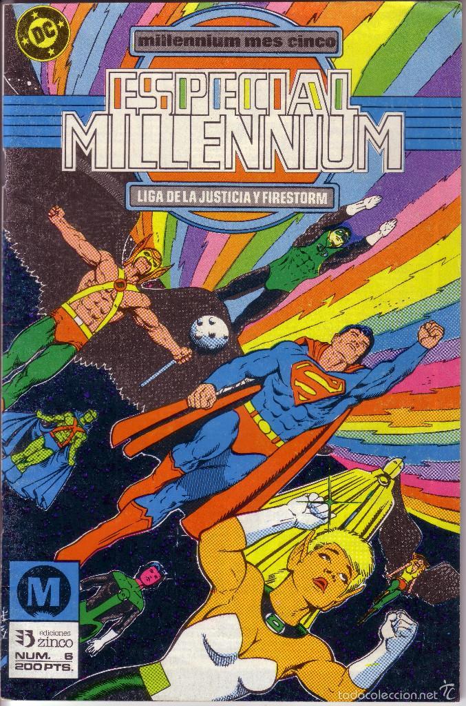 CÓMIC * ESPECIAL MILLENNIUM: LIGA DE LA JUSTICIA... *. Nº 6. ED. ZINCO. AÑO 1988. COMO NUEVO. (Tebeos y Comics - Zinco - Millenium)