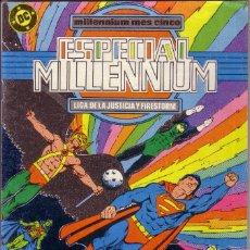 Cómics: CÓMIC * ESPECIAL MILLENNIUM: LIGA DE LA JUSTICIA... *. Nº 6. ED. ZINCO. AÑO 1988. COMO NUEVO.. Lote 58422484