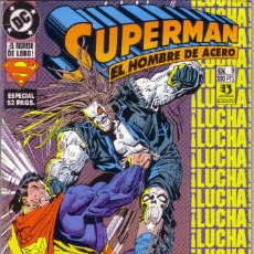 Cómics: COMIC *SUPERMAN: EL HOMBRE DE ACERO* (ESPECIAL 52 PAGS.+POSTER) . Nº 9. ED. ZINCO. AÑO 1994. NUEVO.. Lote 58436979
