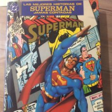 Cómics: LAS MEJIRES HISTORIAS DE SUPERMAN JAMÁS CONTADAS. Lote 58447790