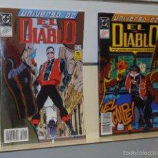 Cómics: EL DIABLO UNIVERSO DC COMPLETA Nº 19 Y 20 -ZINCO- OFERTA. Lote 95987422
