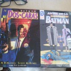 Cómics: BATMAN DOS CARAS Y ANTES DE LA HORA CERO ( PRECINTADO) LOTE 2 TOMOS.. Lote 58561428