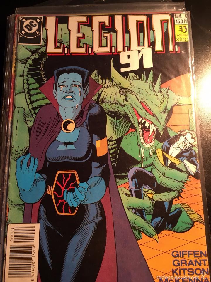 LEGION 91 #6 / DC (ZINCO) (Tebeos y Comics - Zinco - Legión 91)