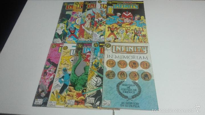 INFINITY LOTE DE 10 Nº 6-10-12-13-14-16-17-19-20-22 (Tebeos y Comics - Zinco - Infinity Inc)