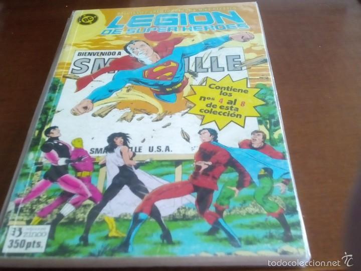 Cómics: LEGION DE SUPER-HEROES TOMOS DEL 1 AL 6 LEER DESCRIPCION - Foto 2 - 68669107
