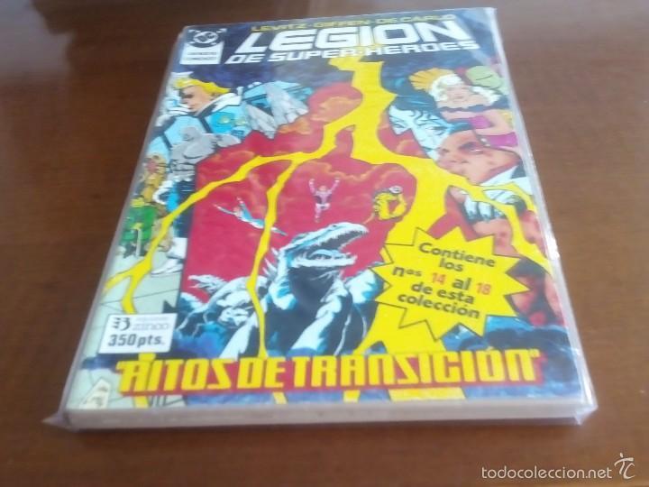 Cómics: LEGION DE SUPER-HEROES TOMOS DEL 1 AL 6 LEER DESCRIPCION - Foto 4 - 68669107