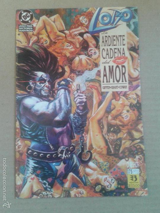 LOBO: LA ARDIENTE CADENA DEL AMOR. POR GIFFEN, GRANT Y COWAN. ONE-SHOT DE EDICIONES ZINCO. (Tebeos y Comics - Zinco - Lobo)