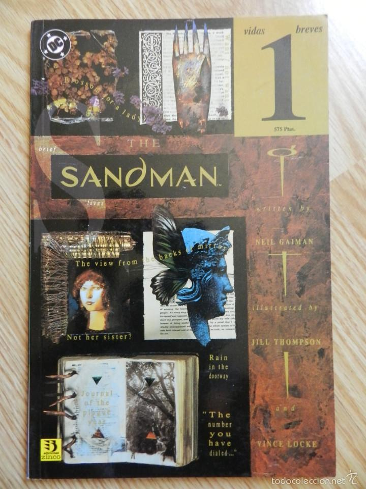 THE SANDMAN VIDAS BREVES 1 NEIL GAIMAN COMIC ZINCO 9 (Tebeos y Comics - Zinco - Prestiges y Tomos)