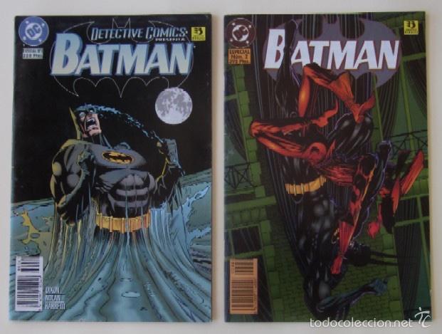 DOS COMIC BATMAN - ESPECIAL Nº 1 Y ESPECIAL Nº 2 (Tebeos y Comics - Zinco - Batman)