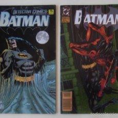 Cómics: DOS COMIC BATMAN - ESPECIAL Nº 1 Y ESPECIAL Nº 2. Lote 59184085