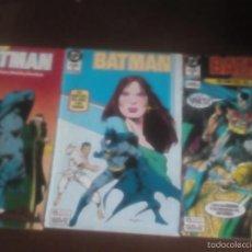 Cómics: BATMAN N-19-20-21. Lote 59448705