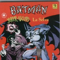 Cómics: BATMAN: JOKER OSCURO. LA SELVA: ZINCO. Lote 59593299