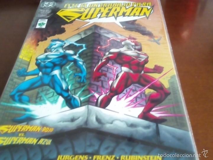 SUPERMAN ROJO VS SUPERMAN AZUL (Tebeos y Comics - Zinco - Superman)