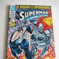 Cómics: SUPERMAN Nº 5 EL REINADO DE LOS SUPERHEROES ZINCO C7A. Lote 149576254