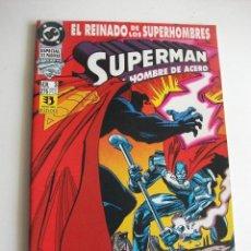 Cómics: SUPERMAN Nº 3 EL REINADO DE LOS SUPERHEROES ZINCO C7A. Lote 149576288