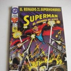 Cómics: SUPERMAN Nº 4 EL REINADO DE LOS SUPERHEROES ZINCO C7A. Lote 180326368